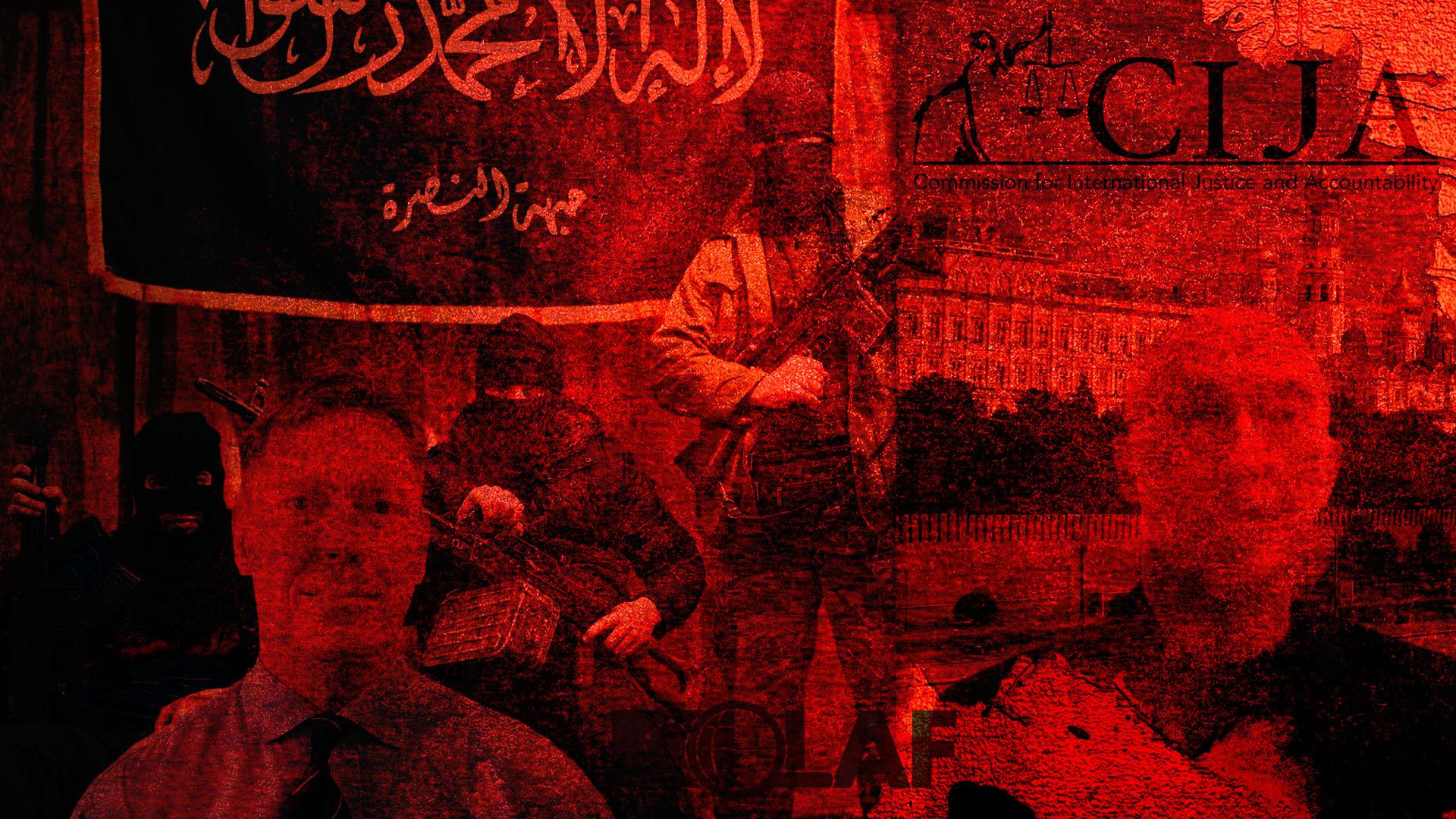 CIJA Syria EU fraud sting McKeigue Russia