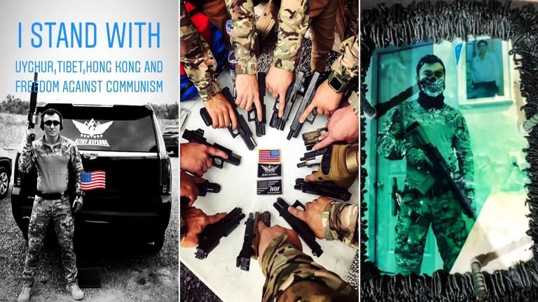 China auslöschen! US-finanzierte uigurische Aktivisten trainieren als bewaffnete Fußsoldaten für das Imperium