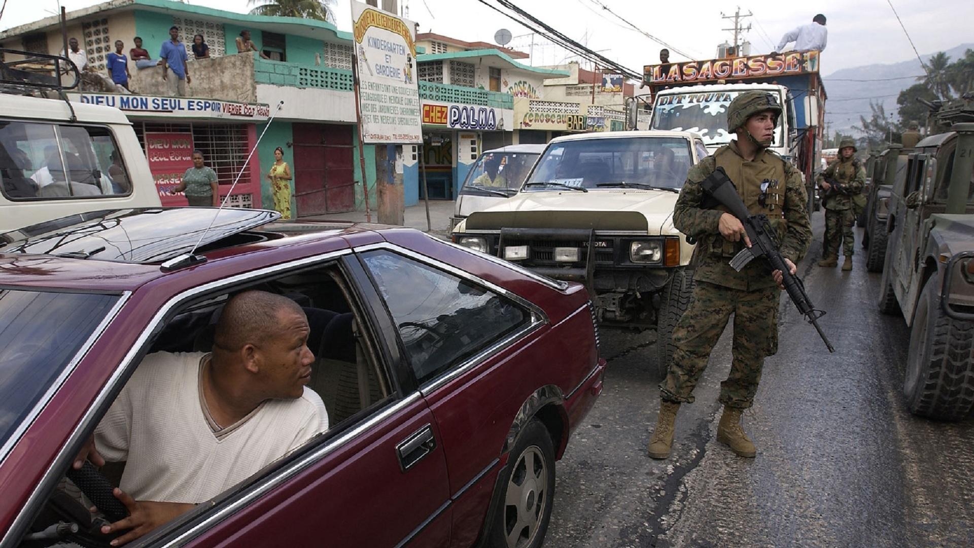 US military Haiti coup Aristide 2004
