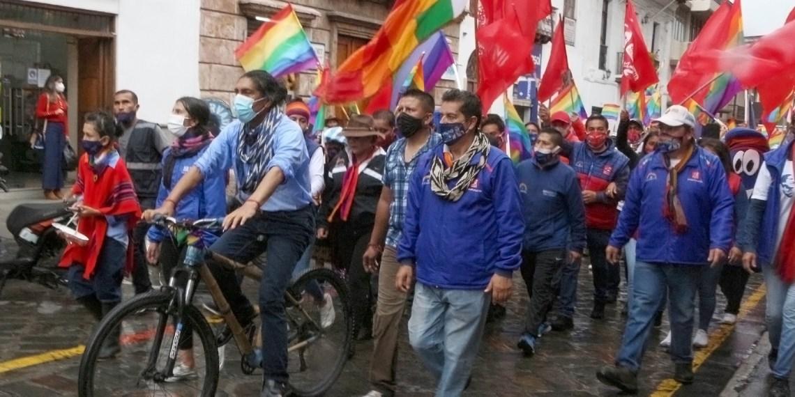 Yaku Perez Ecuador military coup