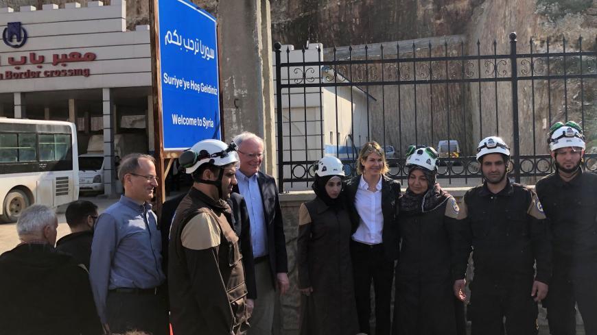 James Jeffrey Kelly Craft Turkey Syria White Helmets