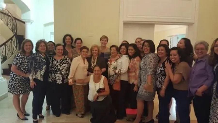 Embajadora de Estados Unidos MRS Nicaragua