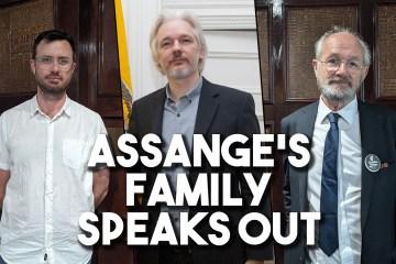 assange family