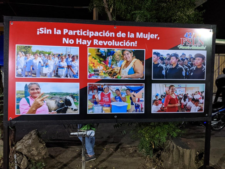 nicaragua sandinista vigilia women