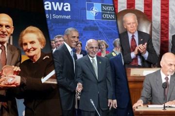 Afghanistan Ashraf Ghani corrupt US puppet