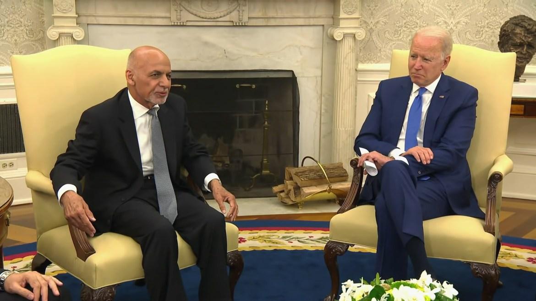 Ashraf Ghani Biden White House