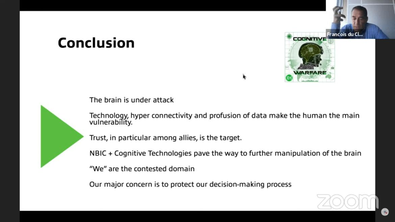 NATO cognitive warfare humans domain