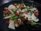 Spinach & Ricotta Gnocchi, Heirloom Tomatoes, Dried Olives and Parmesan