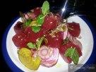 Watermelon, Beets, Pomegranate, Mint, Seeds