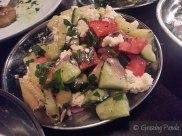 Shopska Salad - Tomato, Cucumber, Pickled Onion, Paprika, White Cheese