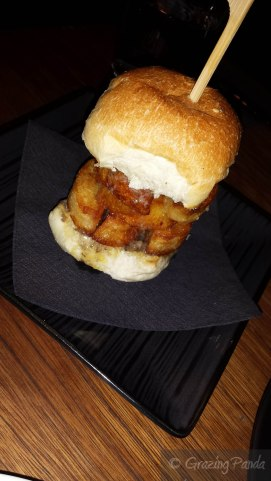 Morse Chip Butty - Roasted Duck Fat Potatoes in a Truffle Buttered Roll