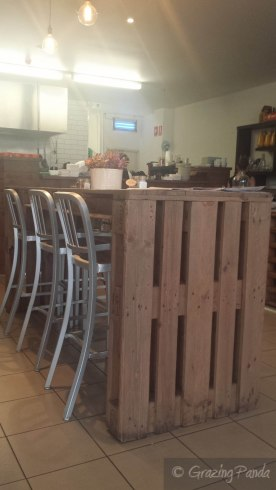 Crate Table at Lolo and Wren
