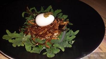 Pine Smoked Quails Nest