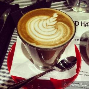 Latte at De Mad Hatter