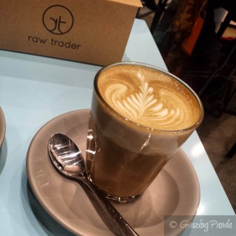 Latte at Raw Trader