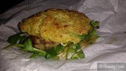 Ramen Burger - Eggplant