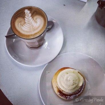 Latte and Original Mini Scroll