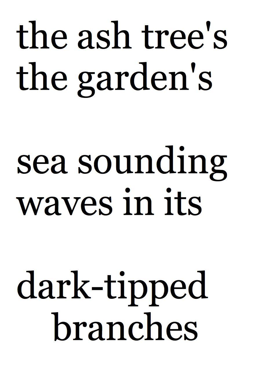 Short Blank Verse Poems