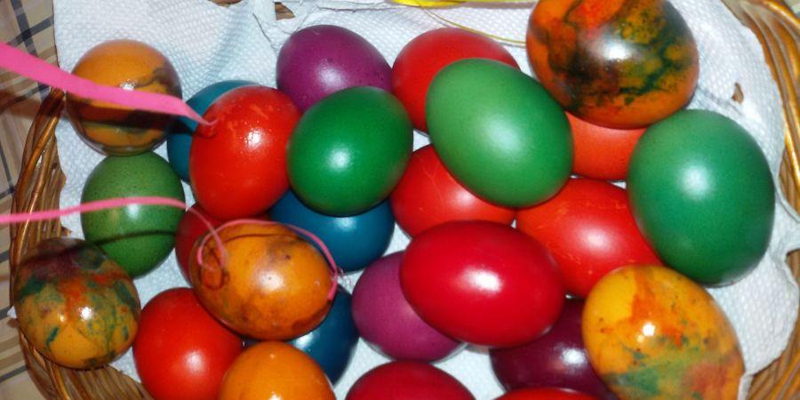 ХРИСТОС ВОСКРЕСЕ ускршња јаја