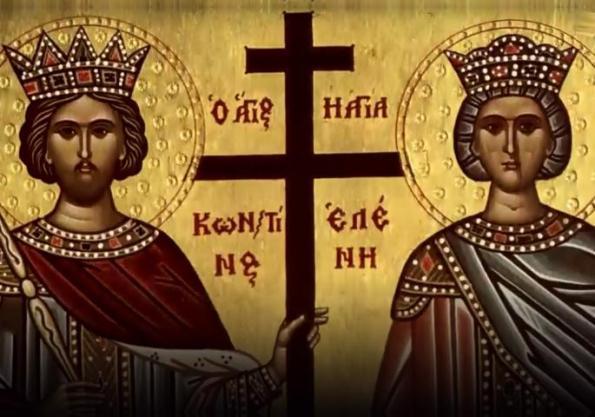 Икона за Крстовдан