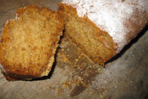 посни колач са јабукама