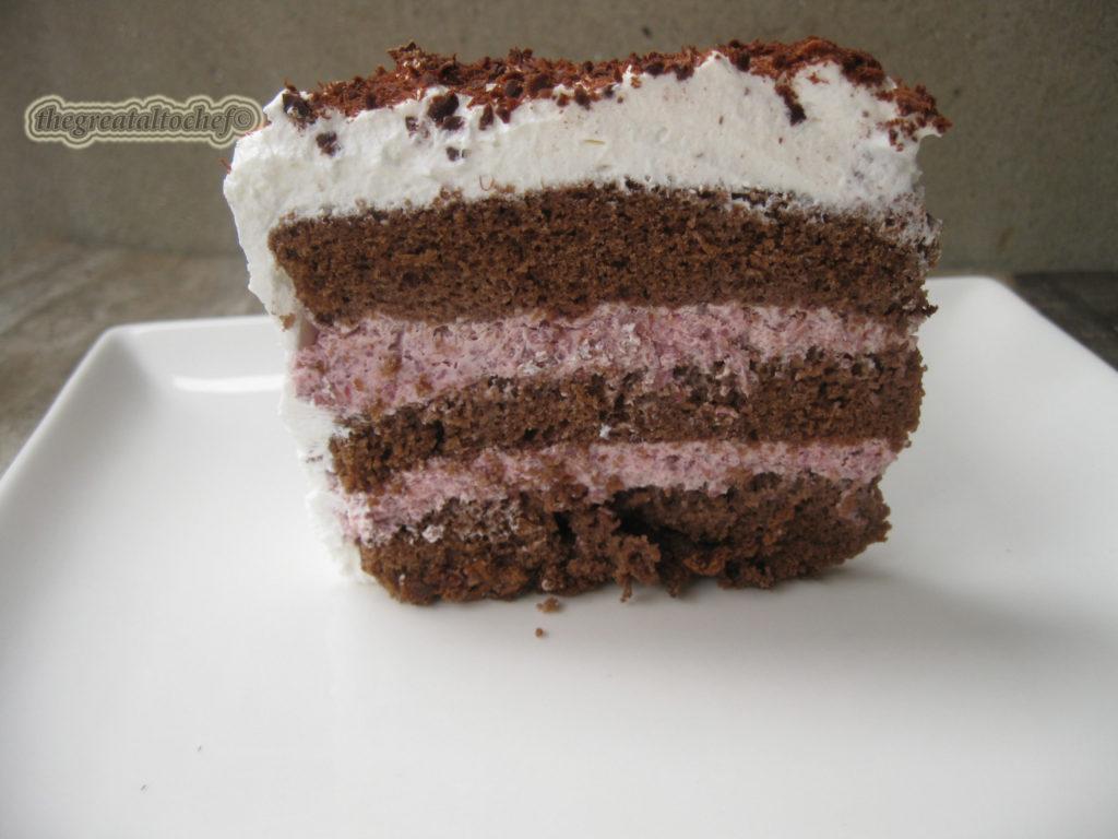 малиница торта