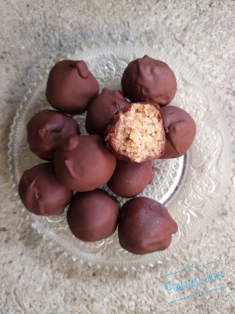 кускус, орах и чоколада