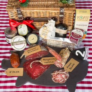 Artisan British Cheese & Charcuterie Lovers Box Extra Large