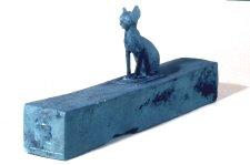 Bronze cat mummy case late period