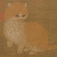 portrait of a cat, LiTi, Sung Dynasty, Ntl Palace Museum