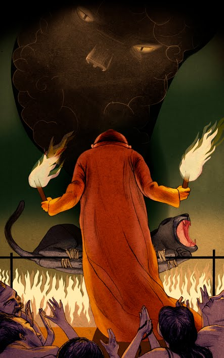 Taigheirm Ritual Source: jonathanburtonblog.net