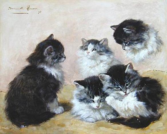 Kittens Henriette Ronner-Knip 1893 Toledo Museum of Art