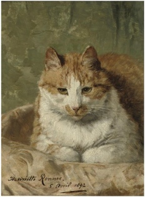 Mr. Moustache Henriette Ronner-Knip Private Collection