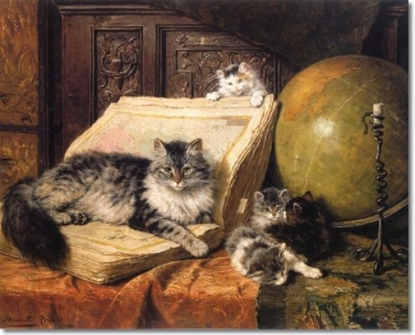 World Travelers Henriette Ronner-Knip Private Collection
