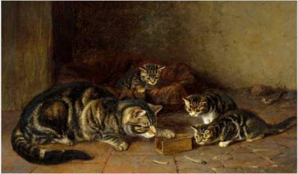 Let's Play Horatio Henry Couldery Private Collection