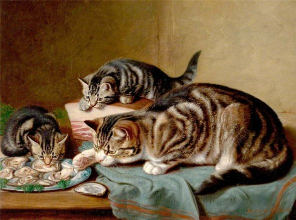 A Shared Meal Horatio Henry Couldery Private Collection