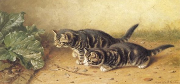 Watching Horatio Henry Couldery Private Collection