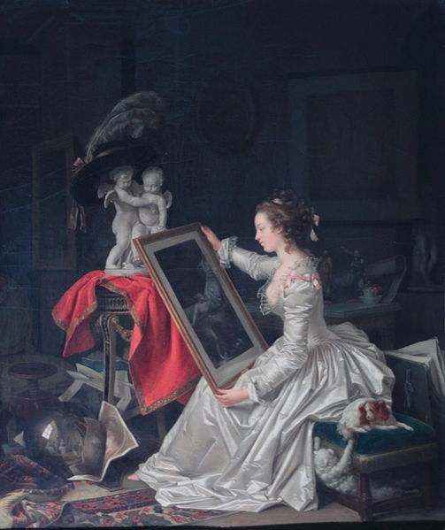 L'Élève intéressante Jean-Honore Fragonard and Marguerite Gerard Private Collection