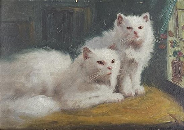 cats in 20th century art