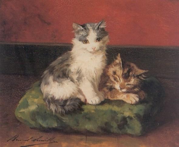 Sharing a Pillow Brunel de Neuville