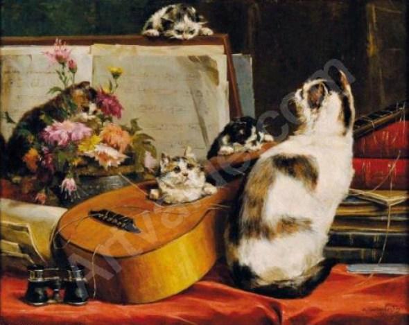 Amateurs concert Charles van den Eycken private collection