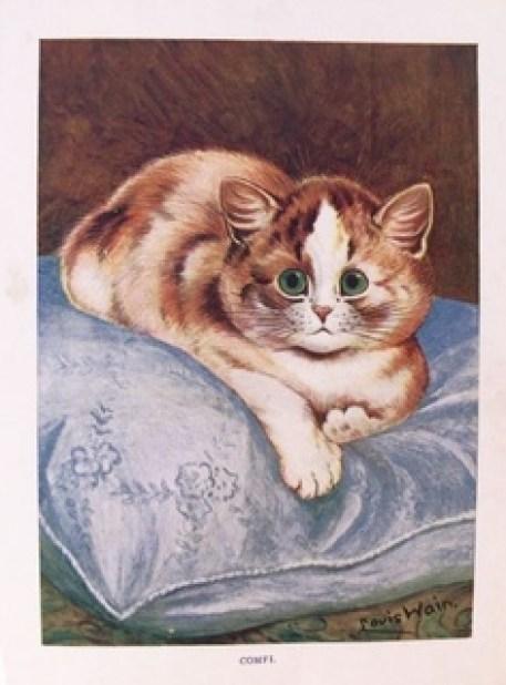 Cat 1915 Louis Wain cats in art