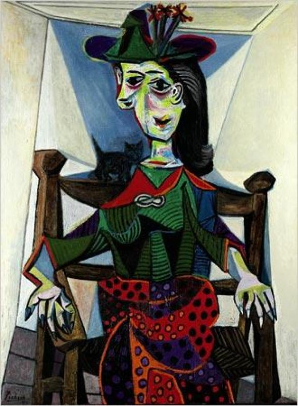 Dora Maar au chat 1941 Picasso cats