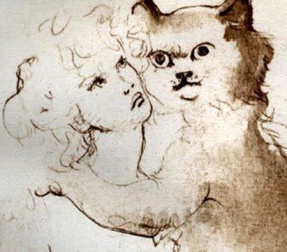 Cat and Woman Leonor Fini
