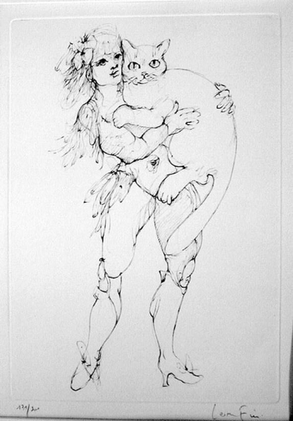 The Leopard by Leonor Fini, 1986