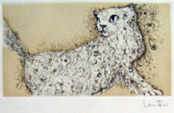 Curious Cat Leonor Fini