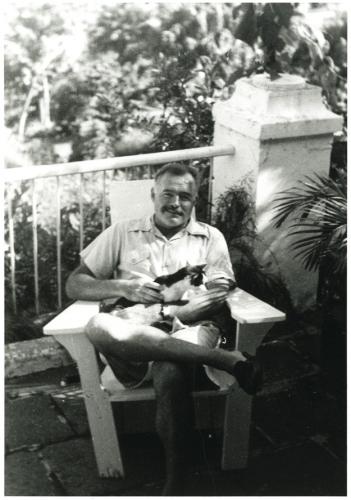 Ernest Hemingway cats