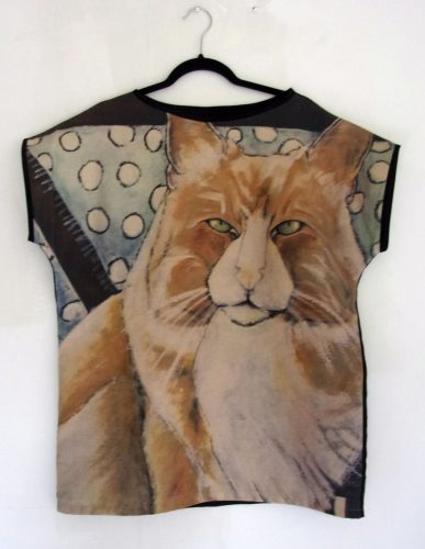 Ukko 2-Cat Art Top, Carla Raadsveld