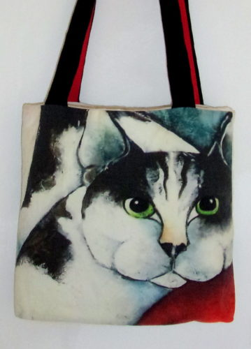 art bag - Cat people, Carla Raadsveld
