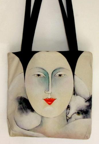 Happy Art Bag-Carla Raadsveld, cat bags